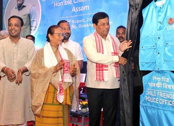 Assam Chief Minister launched Child friendly Police initiative conceptualied by UTSAH, Assam Police and UNICEF Assam