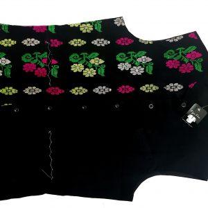 Handmade cotton sleeveless Jacket by Ameet Barua