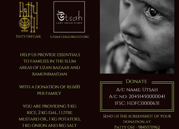 UTSAH in collaboration with PATTY OH CAFE is organizing a fund raiser